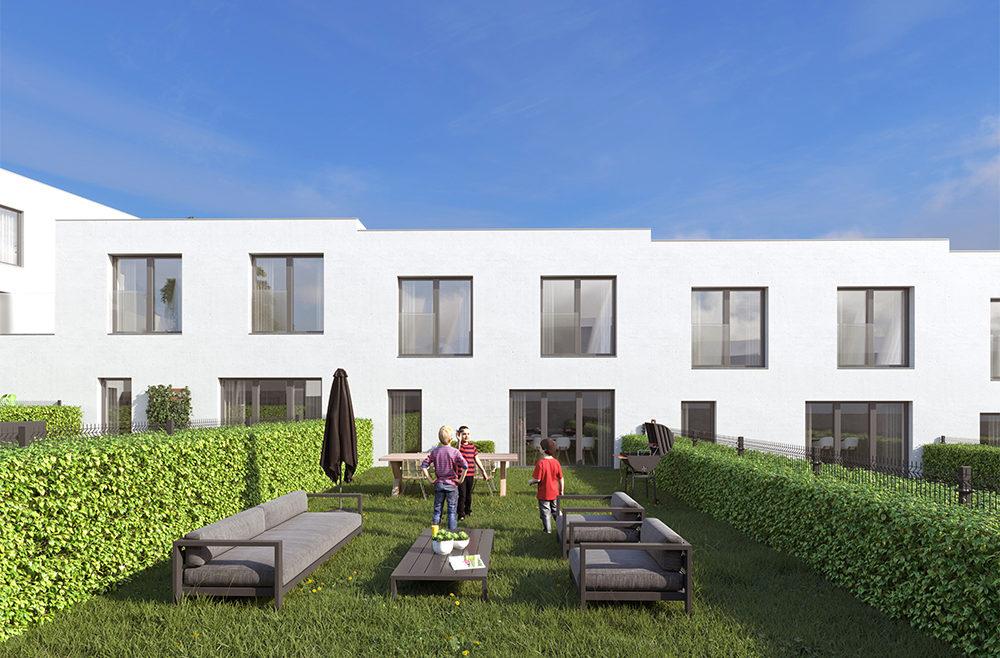 Vue exterieurs 3D maison BLISS