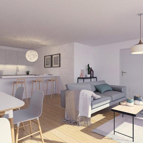 Living appartement Harmonie