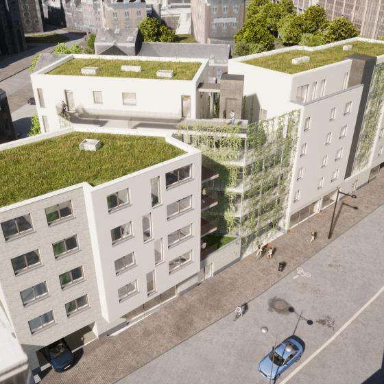 Projet immobilier futur à Namur