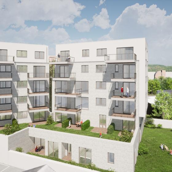 Projet immobilier à Namur